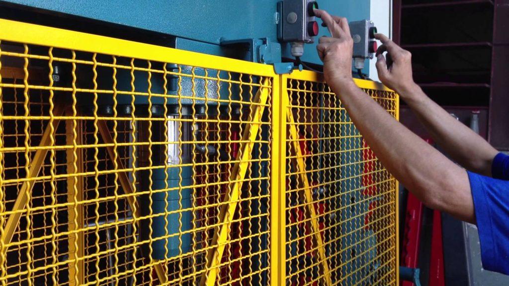 NR 12 - Dispositivos de segurança