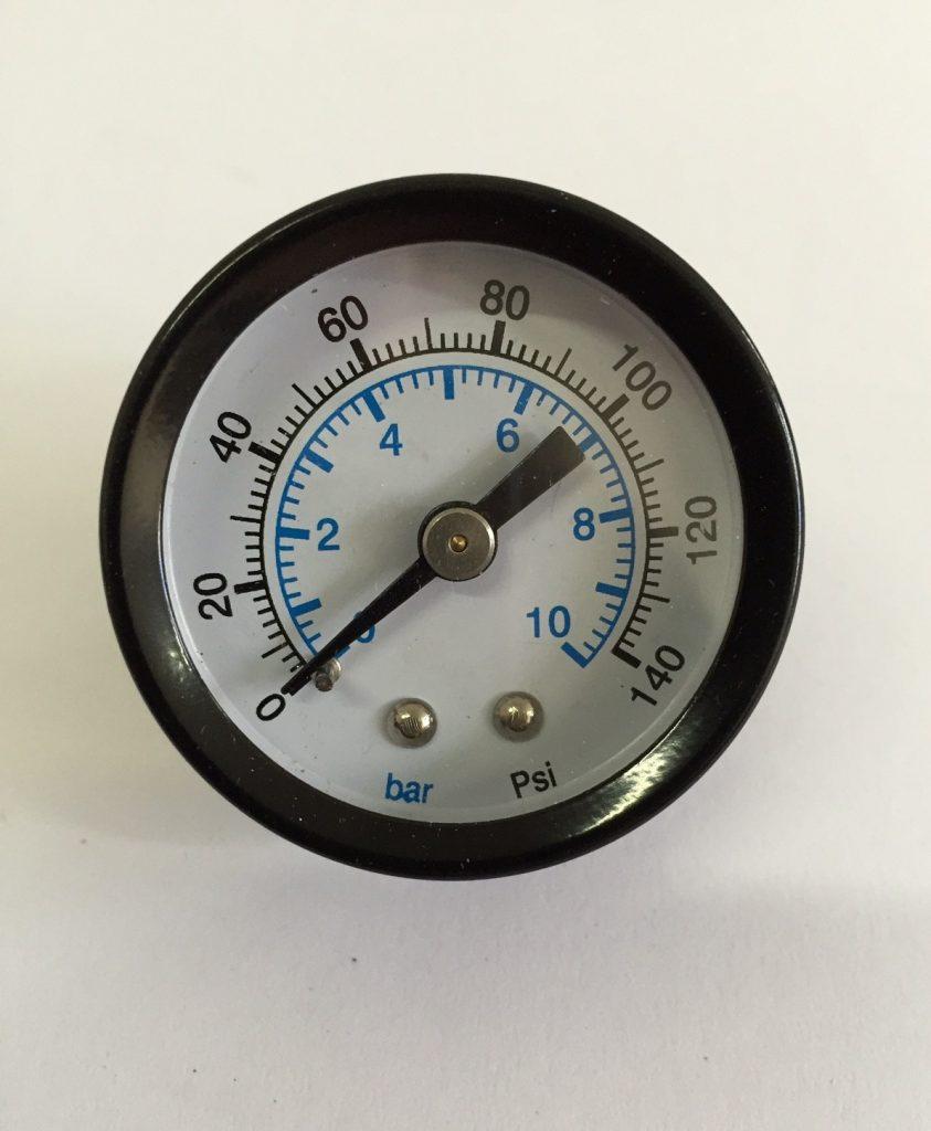 Manuseio dos vasos de pressão - Manômetro