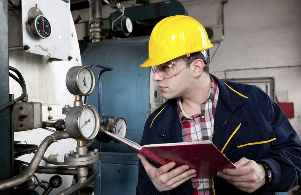 Manuseio dos vasos de pressão - Livro de segurança