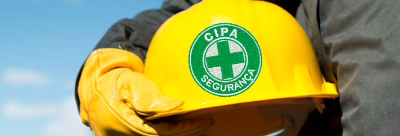 Treinamento para CIPA NR 5 - Capacete CIPA